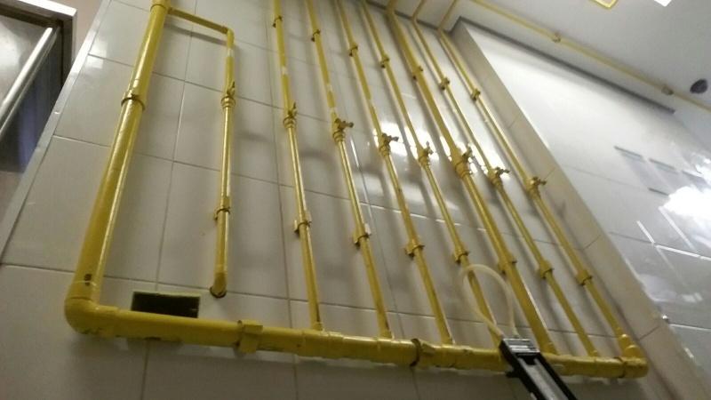 Instalação de Tubulação de Gás na Chácara Pai Jacó - Tubulação de Gás