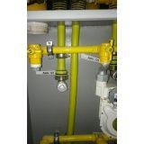 instalação de tubulação de gás preço Jardim das Orquídeas
