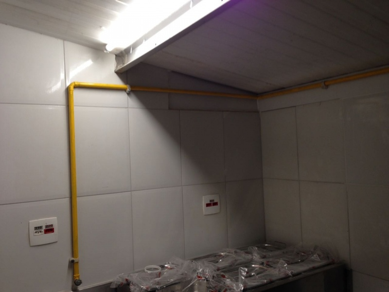 Construção de Tubulação de Gás Preço Vila Sfeir - Instalação de Tubulação de Gás