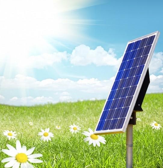 Placa de Energia Solar Fotovoltaica