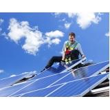 instalação energia solar Fazenda Iracema