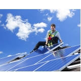 instalação energia solar Quinta dos Jatobás