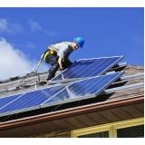 placa de energia solar Bosque de Barão
