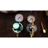 tubulação com gás Residencial Colina das Nascentes