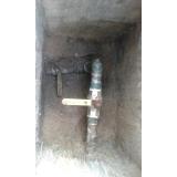 tubulação de gás embutida Jardim Anhanguera