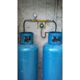 tubulação de gás comgas