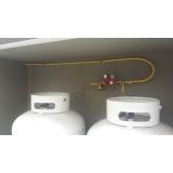 tubulações com gás Centro Empresarial de Indaiatuba