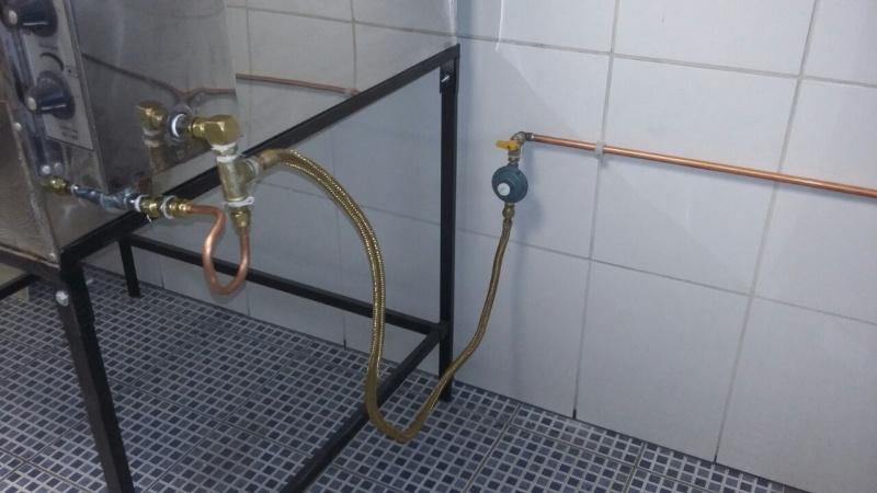 Tubulação de Gás Encanado Vila Santana - Tubulação de Gás Cozinha