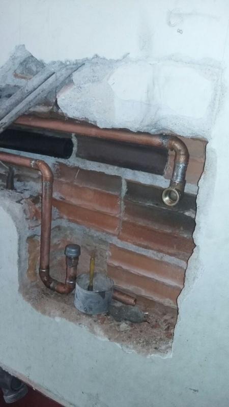 Tubulação de Gás Enterrada Núcleo Residencial São Luiz - Adequação de Ponto de Gás