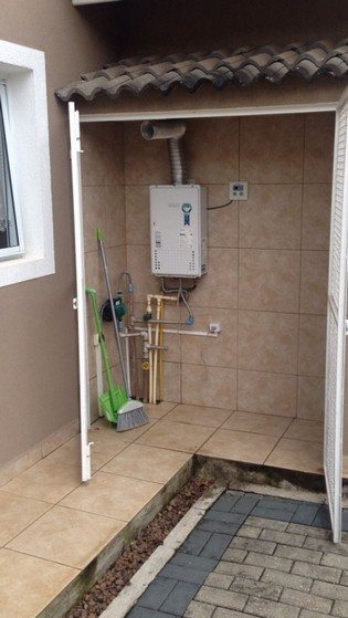 Tubulação com Gás para Condomínio