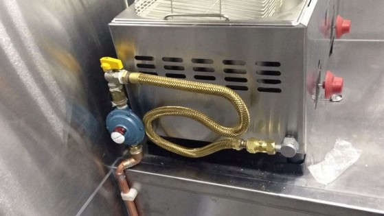 Tubulação com Gás Gn